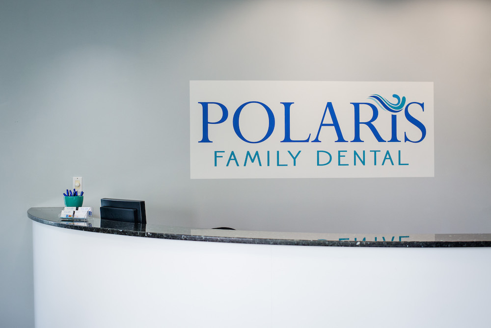 Polaris Family Dental front desk