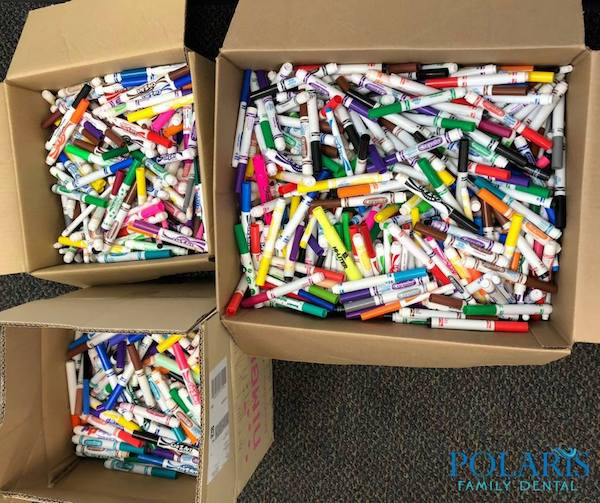 Boxes of Markers